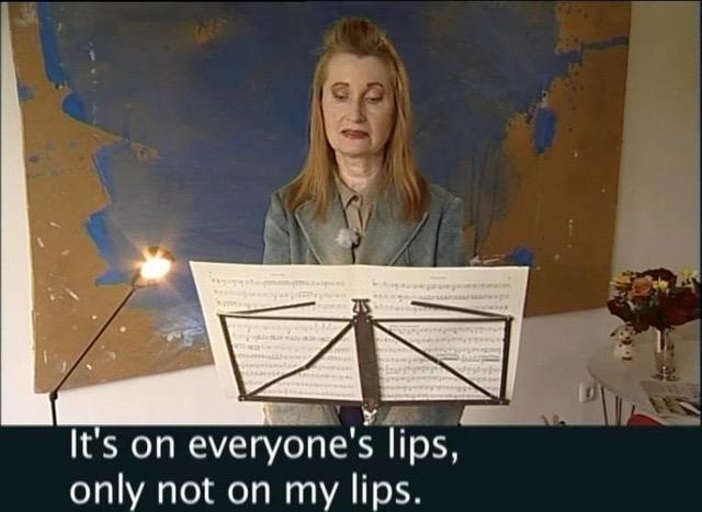 lfriede Jelineks Nobelpreisrede in einem voraufgezeichneten Video