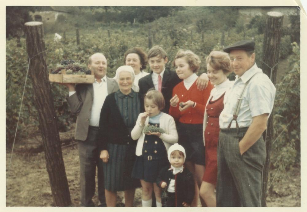 Josef und Gertrude Stangl mit Familie noch vor ihrer Verheiratung