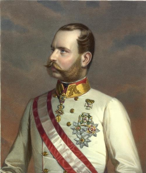 Portrait Kaiser Franz Josefs, 1861