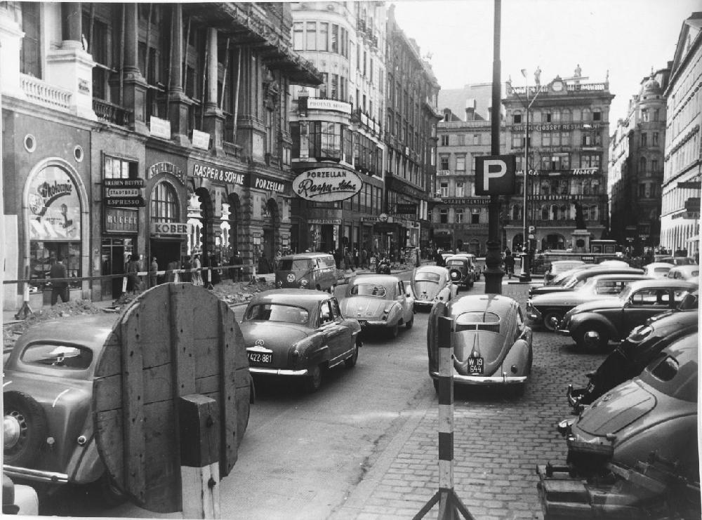 Der Graben in Wien, Mai 1958
